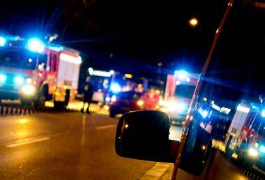 Was mache ich, wenn ich einen Unfall sehe?