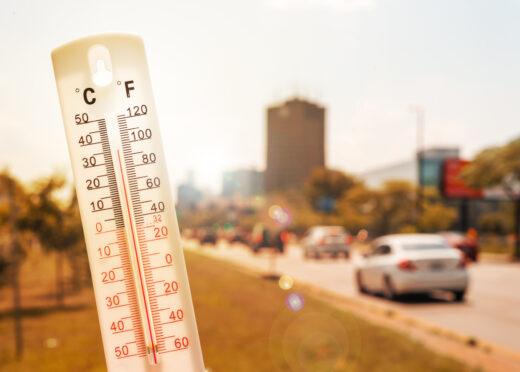 Hitzeentwicklung im geschlossenen Auto