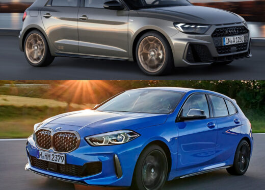 Fahrzeugvergleich: BMW 1er vs. Audi A1